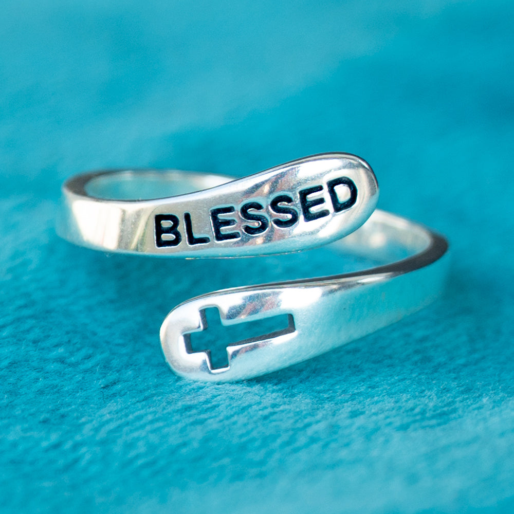 Sterling Silver Blessed Ring
