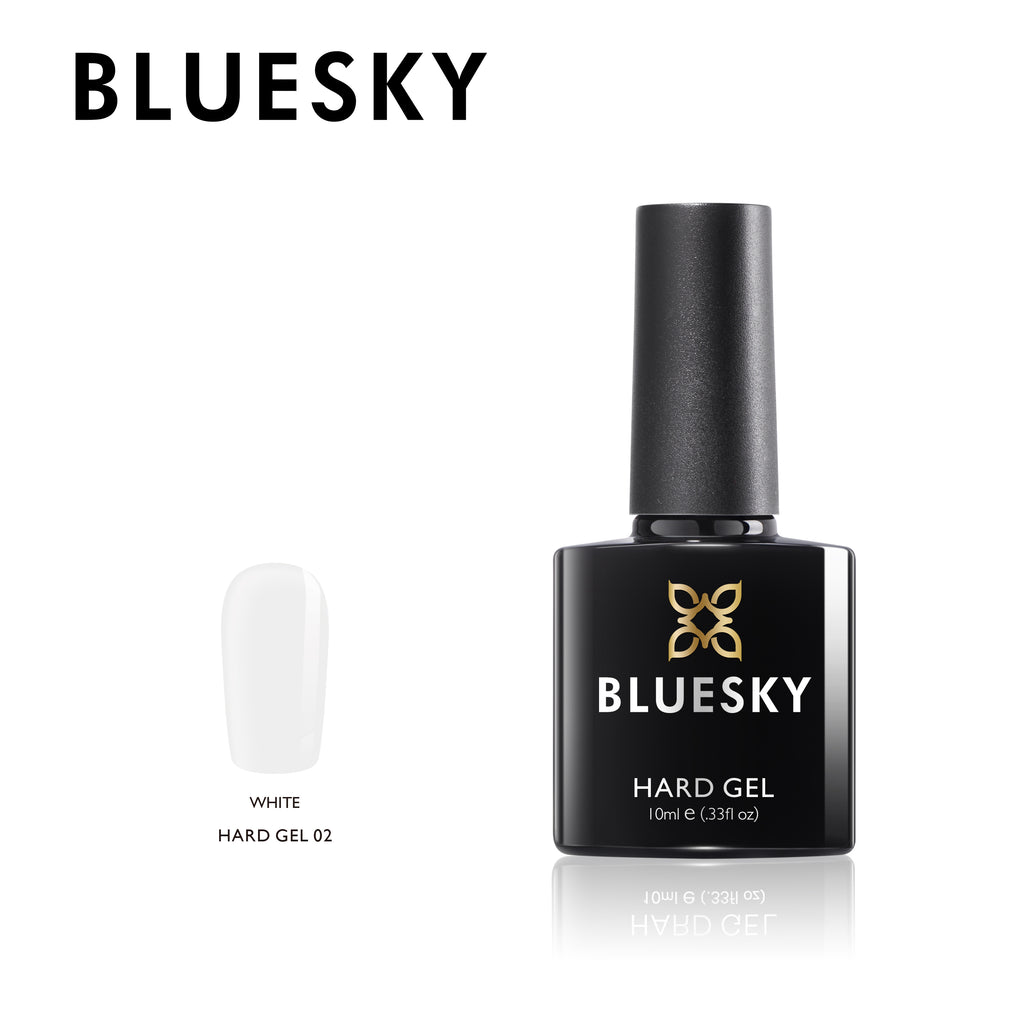 BLUESKY Hard Gel 02 White, 10ml