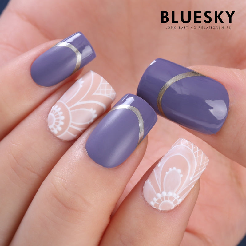 BLUESKY Gel Paint 8g - silber