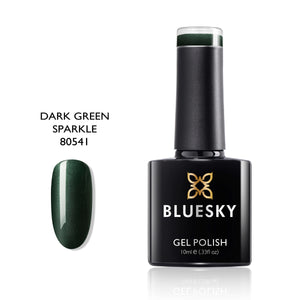 BLUESKY 80541 Dark Green Sparkle, 10ml