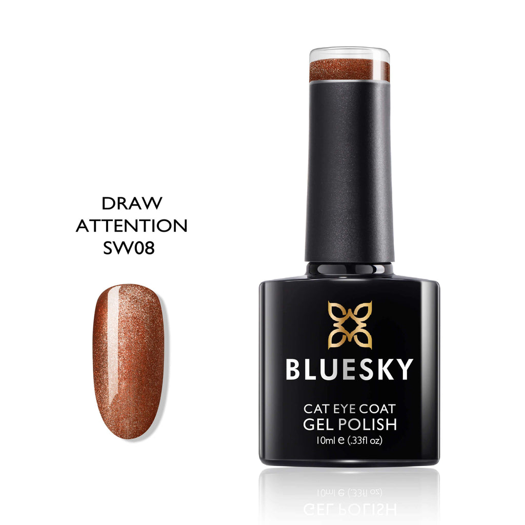 BLUESKY 5D Smoothie Cat Eye SW08 Draw Attention10 ml