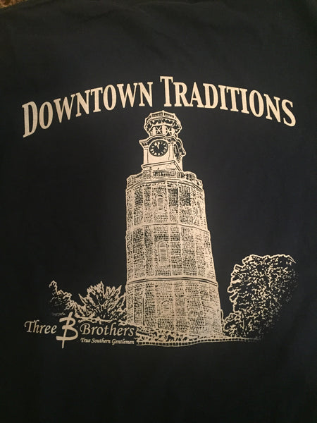 Downtown Traditions Pocket Tshirt - Three Brothers Clothing