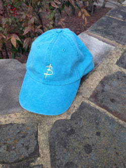 Lagoon Blue Polo Hat - Three Brothers Clothing
