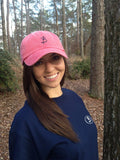 Southern Belle Melon Polo Hat - Three Brothers Clothing