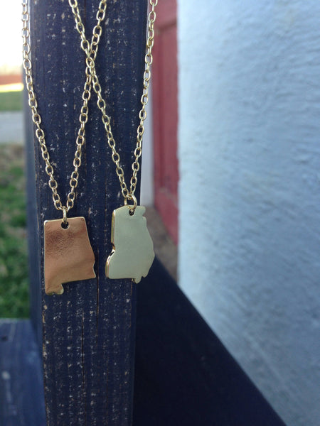 State Pride Necklace - Three Brothers Clothing