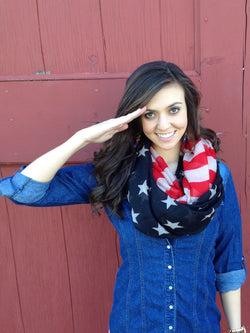 American Flag Scarf - Three Brothers Clothing