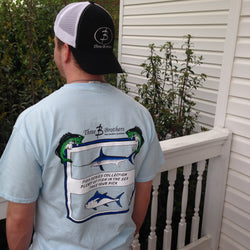 Plenty of Fish in the Sea Pocket Tshirt - Three Brothers Clothing