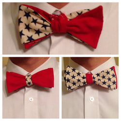 Three Way American Bro Tie - Three Brothers Clothing