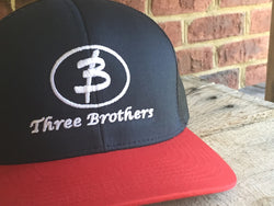 Original Logo Mesh Snapback Hat - Three Brothers Clothing