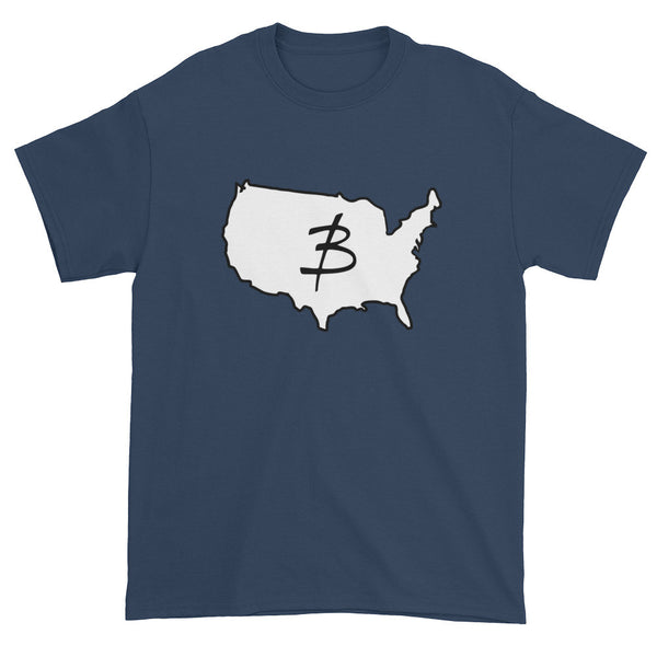 USA Logo Short sleeve t-shirt - Three Brothers Clothing