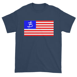 USA Logo Flag Short sleeve t-shirt - Three Brothers Clothing