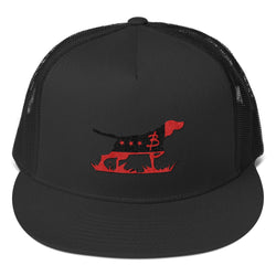 UGA Hunting Lab Trucker Cap - Three Brothers Clothing
