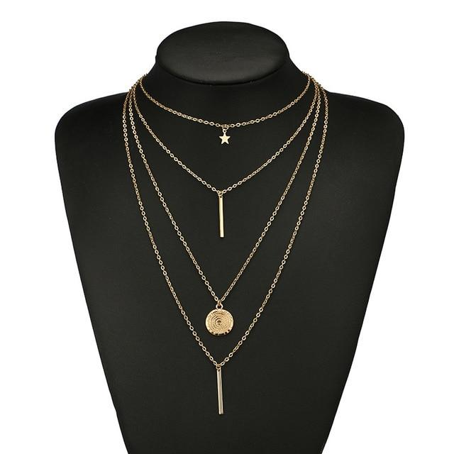SOPHIE MULTI-LAYER NECKLACE