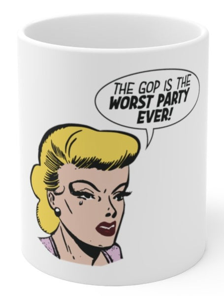 GOP is the worst coffee mug