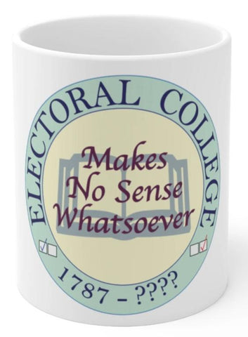 Electoral college coffee mug