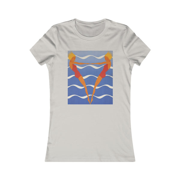 Synchronized Swimmers - Women's T-shirt