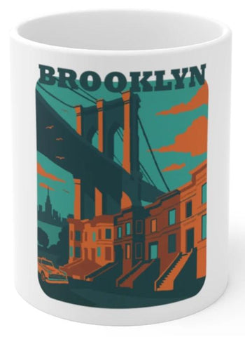 Brooklyn coffee mug