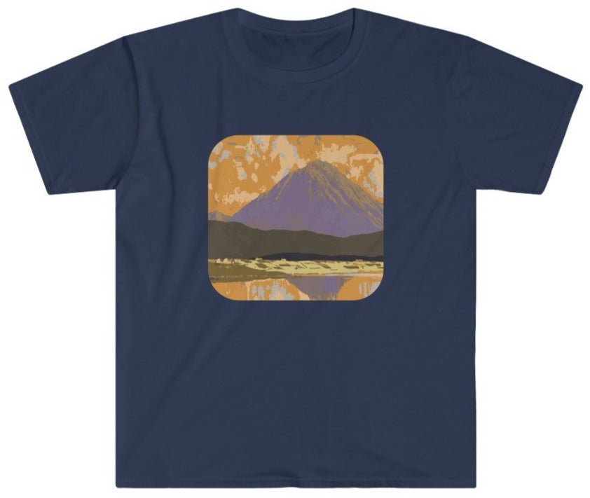 Purple mountains t-shirt