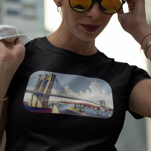 Women's Brooklyn Bridge T-shirt