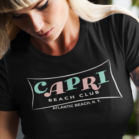 Capri Beach Club - Women's T-Shirt