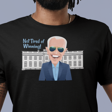 Biden in the White House t-shirt