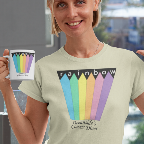 Rainbow Diner Oceanside t-shirt
