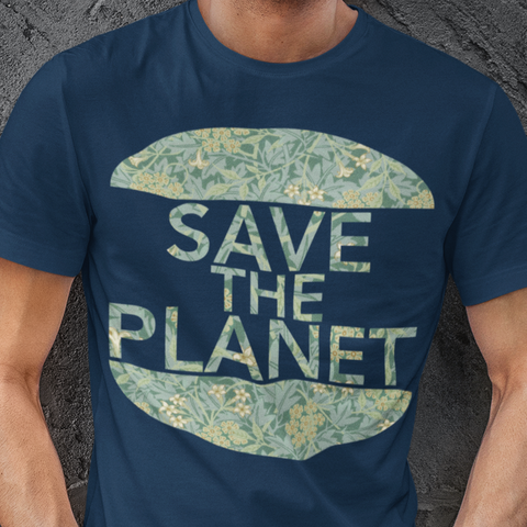 Save the planet t shirt
