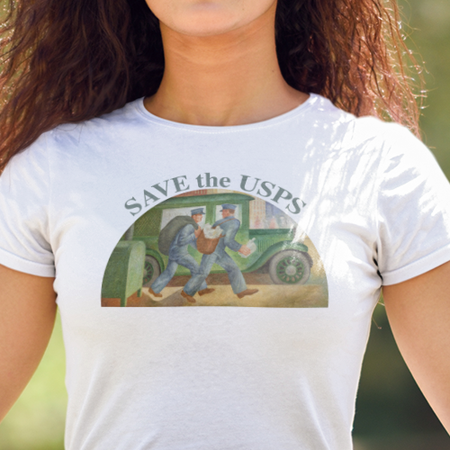 Save the USPS t shirt