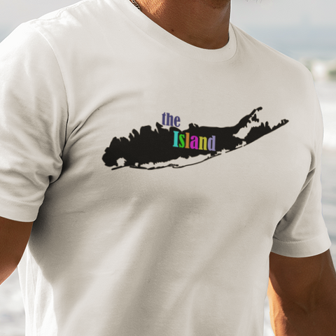 The Island Long Island t-shirt