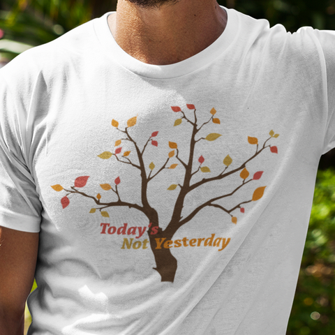 Today's Not Yesterday (Stevie Wonder) t-shirt