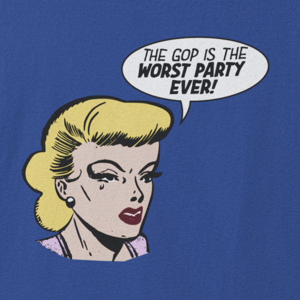 Worst Party Ever - Women's T-shirt