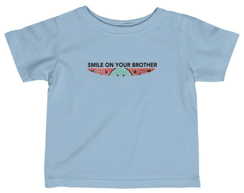 Smile on your brother baby t-shirt