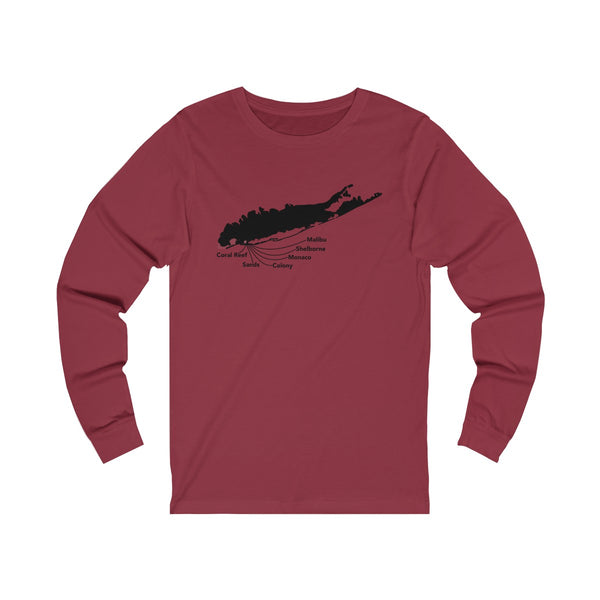 Lido Beach Clubs Unisex - Long Sleeve T-shirt