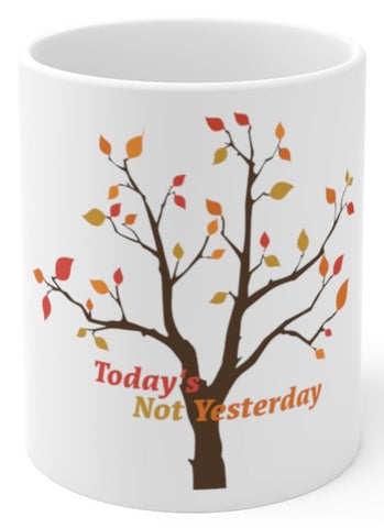 Today's Not Yesterday (Stevie Wonder) coffee mug