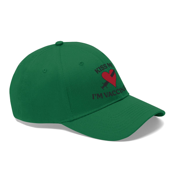 Kiss Me I'm Vaccinated - Unisex Hat