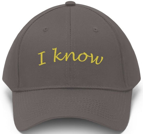 I know hat