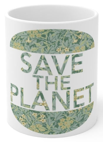 Save the Planet coffee mug
