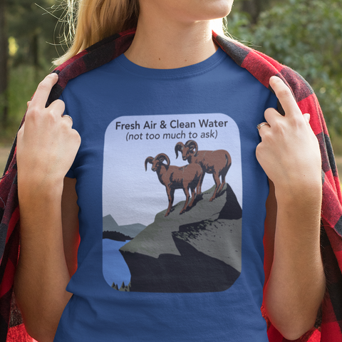 Fresh air Clean water shirt
