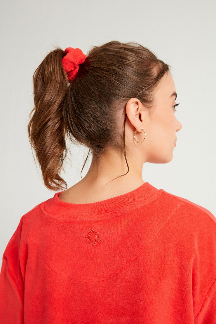 Terry Towel Scrunchie - Sandshaped
