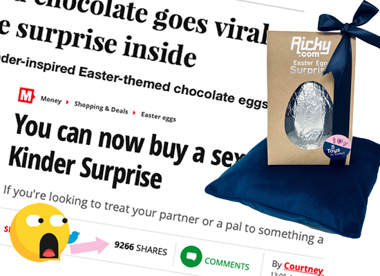 Our Limited Edition Sex Toy Egg Goes Global