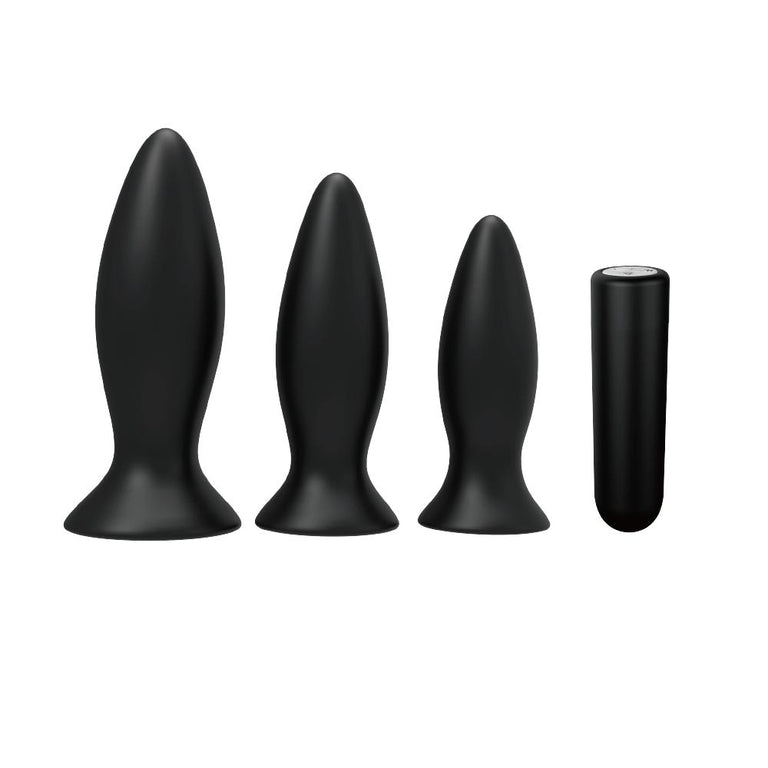 Shop online for Beginner's Rechargeable Butt Plug Vibrator Set of 3 by Dream Toys at Ricky.com