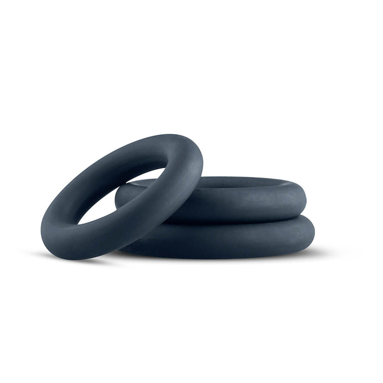 Shop online for Boners 3 Piece Silicone Cock Ring Set by Boners at Ricky.com