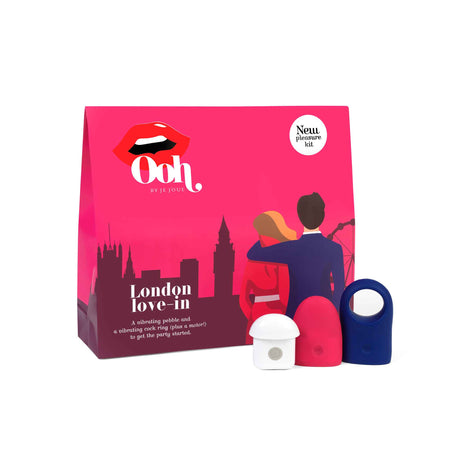 Ooh London Luxury Rechargeable Vibrator Gift Set