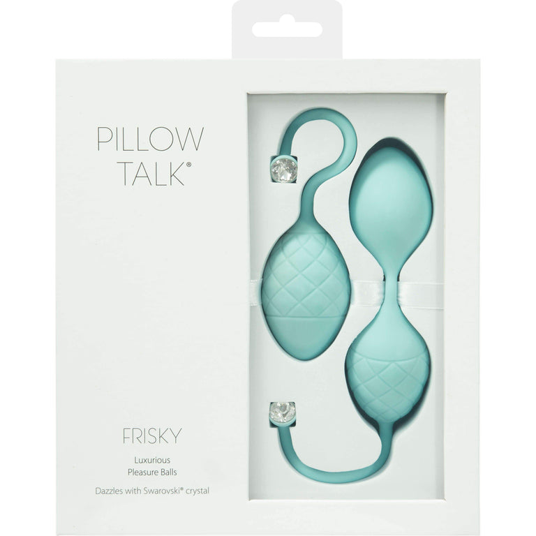 Shop online for Pillow Talk Frisky Single & Double Kegel Ball Set 130g by Pillow Talk at Ricky.com