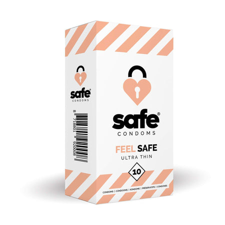 Safe Condoms Feel Safe Ultra Thin 10 Pack