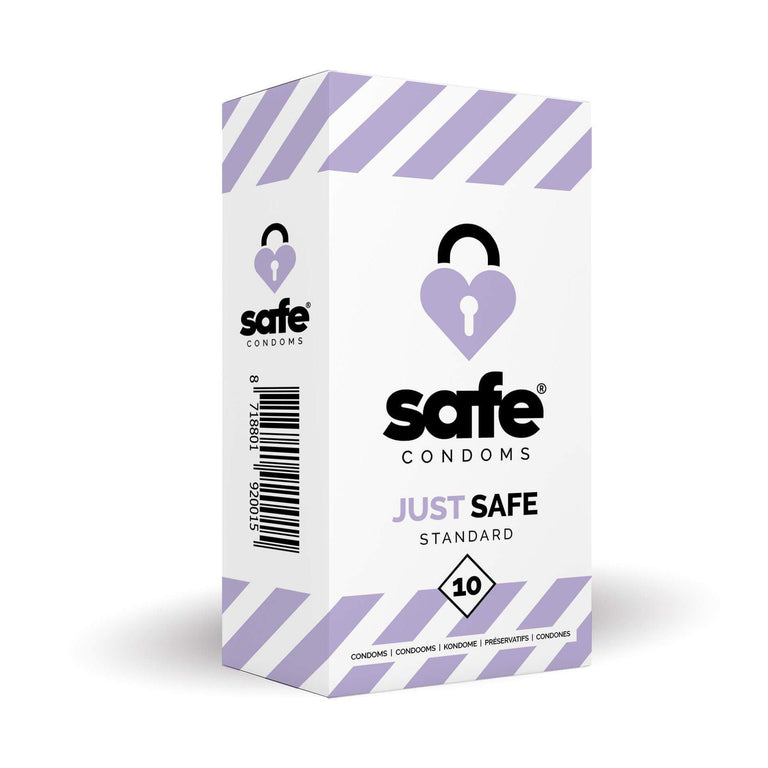 Shop online for Safe Condoms Just Safe Standard 10 Pack by Safe Condoms at Ricky.com