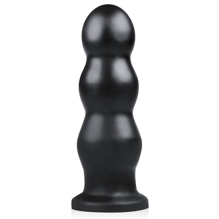 Shop online for Tactical III Extra Large Ribbed Butt Plug with Suction Base by BUTTR at Ricky.com