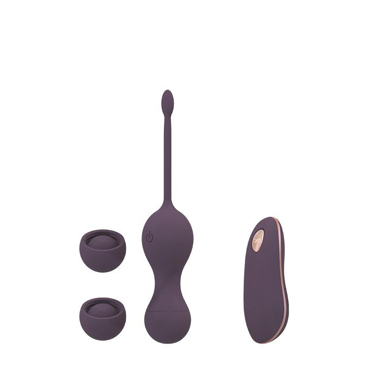 Vibrating Double Kegel Ball Set with Remote Control