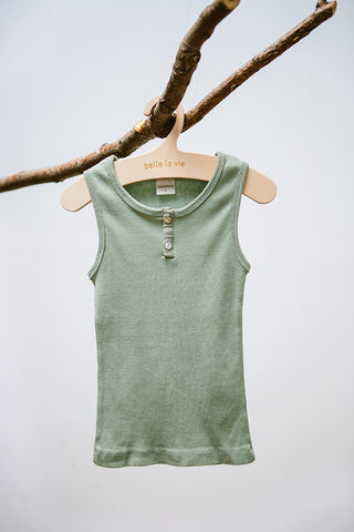 Basic Tank Top with Buttons