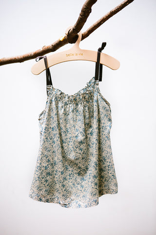 Sleeveless Garden Blouse